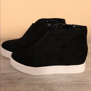 New! In box! Wedge sneakers!